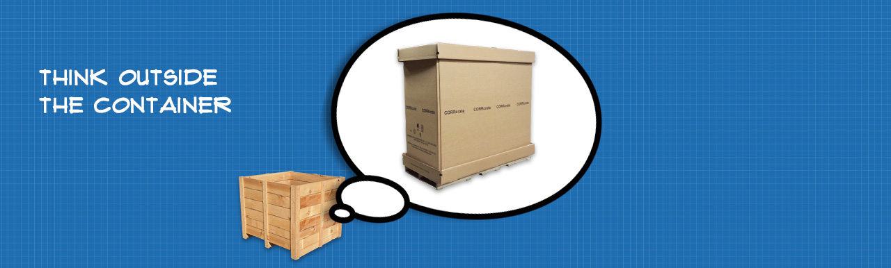 Replace wooden shipping crates with something better: CORRcrate.